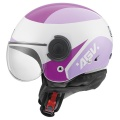 Casque moto AGV Bali Copter Visual Violet