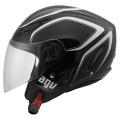 Casque moto AGV Blade Tab Black White