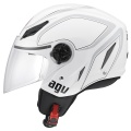 Casque moto AGV Blade Tab White Grey