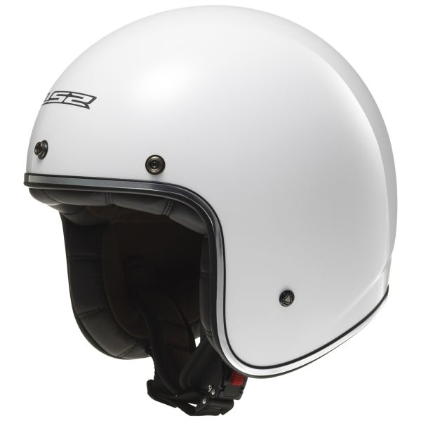 Casque Jet LS2 Bobber White OF583