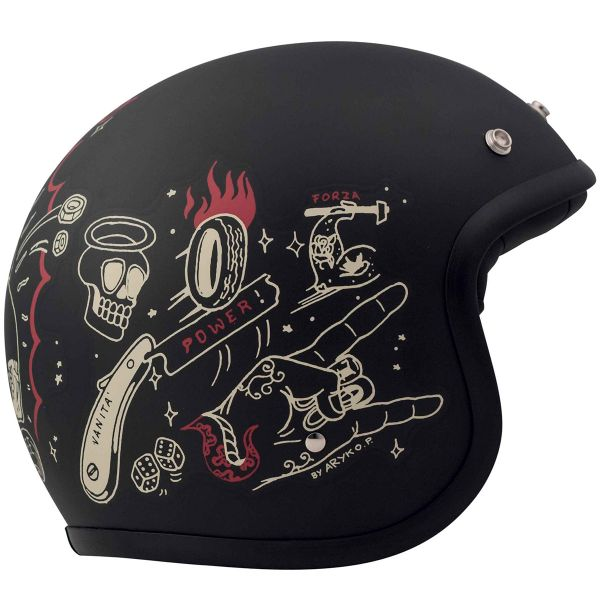 Casque Jet Dmd Born Free