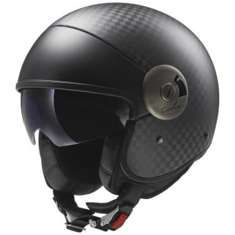 Casque Jet LS2 Cabrio Carbon OF597