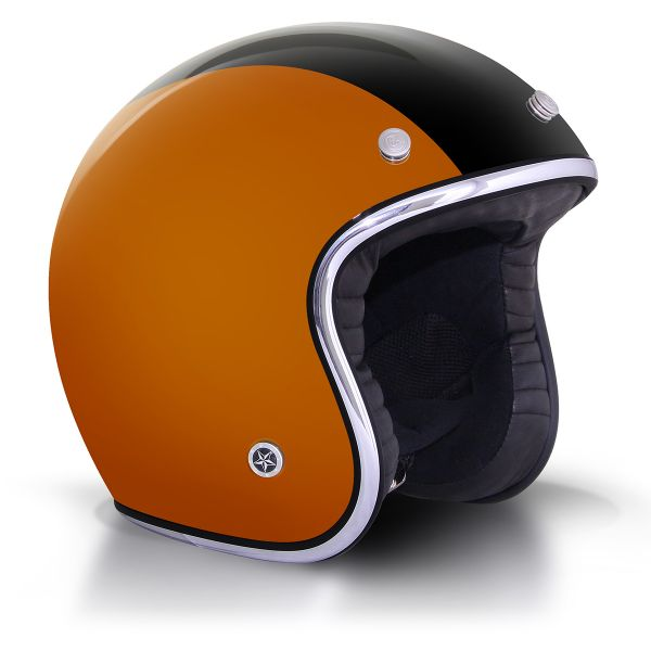Casque Jet GPA Carbon Legend Amber Noir