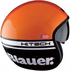 Casque Jet Blauer Pilot Orange