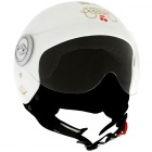 Casque Jet Edguard Bobber Couture Cherry Blanc