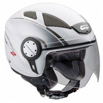 Casque Jet Givi 10.4 Air 2 Blanc