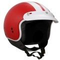 Casque moto GPA Cooper Rouge Brillant
