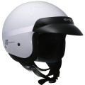 Casque moto GPA Smooth blanc