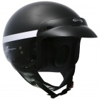 Casque Jet GPA Smooth noir m�tal