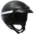 Casque moto GPA Smooth noir métal