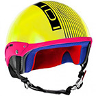 Casque Jet IDI Mini Stripes Jaune