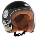 Casque Jet Edguard Dirt Ed Logo Noir Or