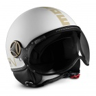 Casque Jet Momo Design Fighter II Blanc Mat Or 5