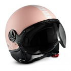 Casque Jet Momo Design Fighter II Rose Mat Blanc 13