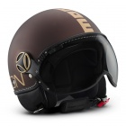 Casque Jet Momo Design Fighter II Tabac Mat Or 15