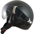 Casque moto Roof Kicker Noir Mat