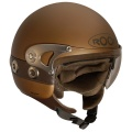 Casque moto Roof Joker Chocolat