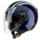 Casque Jet Airoh City One Flash Bleu Nuit