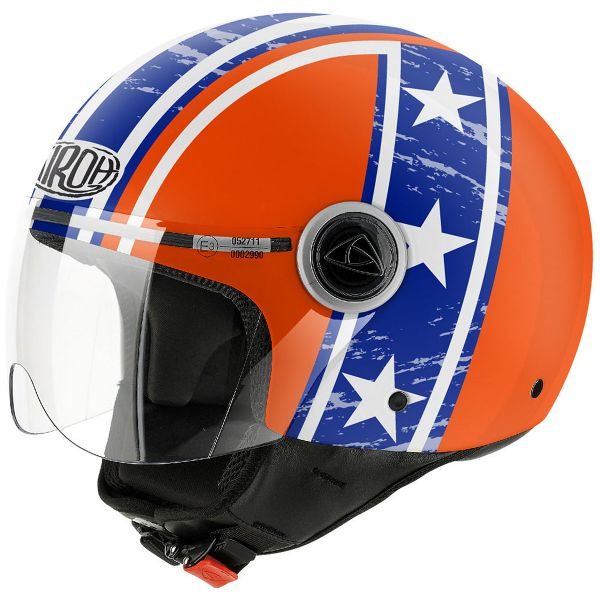 Casque Jet Airoh Compact Hazzard Orange