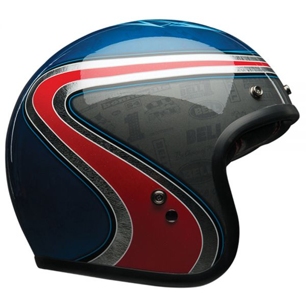 Casque Jet Bell Custom 500 Airtrix Heritage