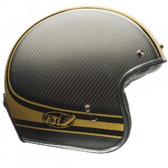 Casque Jet Bell Custom 500 Carbon Roland Sands Bomb