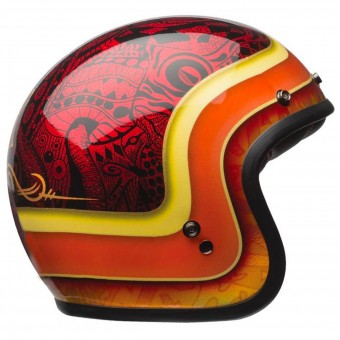 Casque Jet Bell Custom 500 Hart Luck