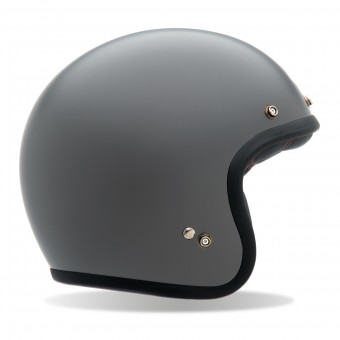 Casque Jet Bell Custom 500 Matte Gray
