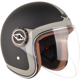 Casque Jet Edguard Dirt Ed Heritage Black Grey