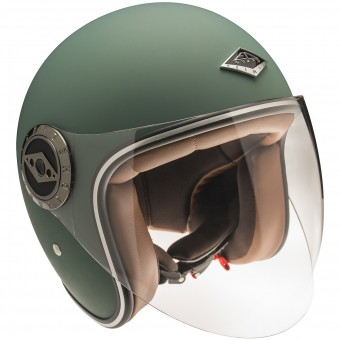Casque Jet Edguard Dirt Ed Visor Original English Green
