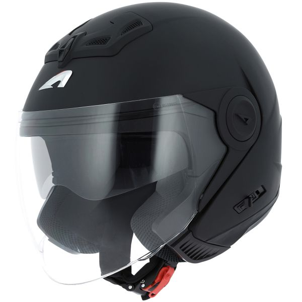 Casque Jet Astone DJ 8 Matt Black
