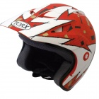 Casque Jet Torx Doug Rouge