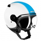 Casque Jet IOTA DP04 Run Bleu Blanc