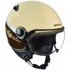 Casque Jet IOTA DP04 Style Beige Brown
