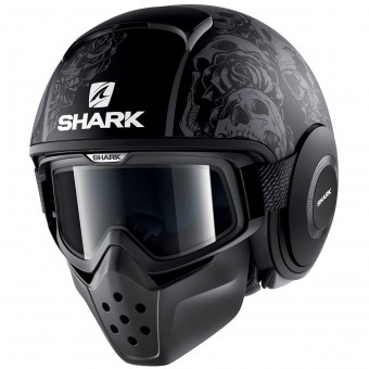 Casque Jet Shark Drak Sanctus Mat KAA