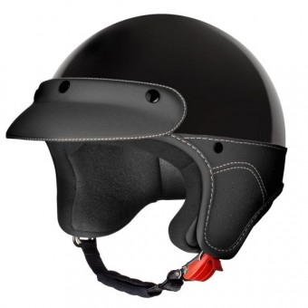 Casque Jet Laura Smith Elegance Noir
