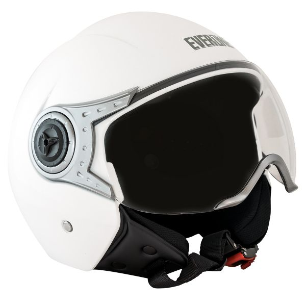 Casque Jet Everone Everoad White