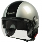 Casque Jet Cromwell F16 Argent