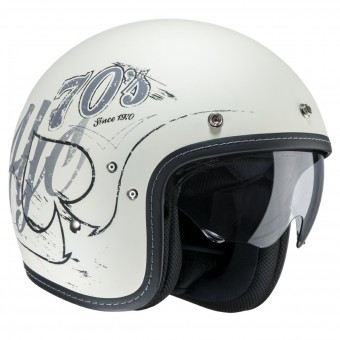 Casque Jet HJC FG-70s Rockers MC10F