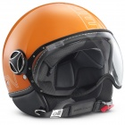 Casque Jet Momo Design FGTR Glam Orange