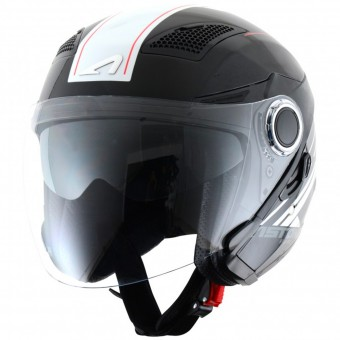 Casque Jet Astone FJ10 Espada Black White