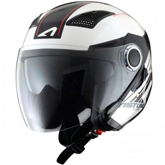 Casque Jet Astone FJ10 Espada White Black