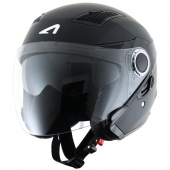Casque Jet Astone FJ10 Matt Black