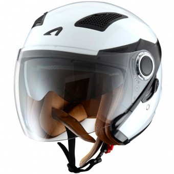 Casque Jet Astone FJ10 White