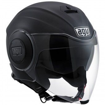 Casque Jet AGV Fluid Matt Black