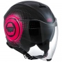 Casque Jet AGV Fluid Pix Black Fuxia