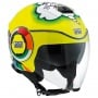 Casque Jet AGV Fluid Top Misano 2011