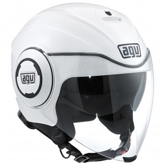 Casque Jet AGV Fluid White