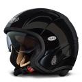 Casque moto Premier Free Evo Noir U9