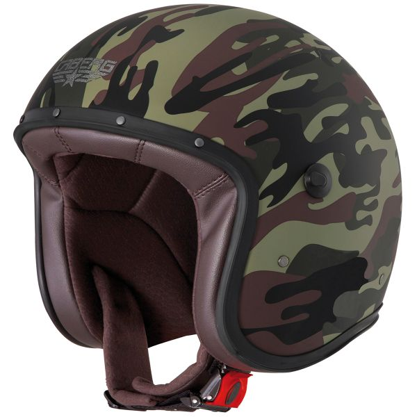 Casque Jet Caberg Freeride Commander Mat Green