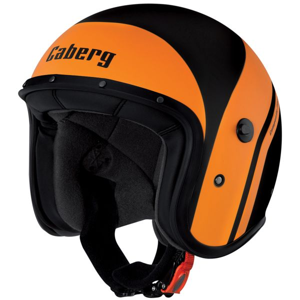 Casque Jet Caberg Freeride Mistral Matt Black Orange
